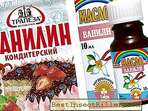 Vanillin from mosquitoes - recipes for children and adults